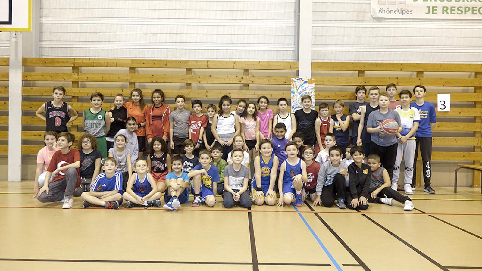Challenge Kinder / Sport Basket day